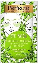 Perfumería y cosmética Parches para contorno de ojos de hidrogel, aloe y vitaminas - Perfecta Eye Patch Aloe & Vitamins