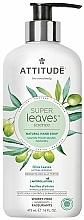 Perfumería y cosmética Jabón de manos hipoalergénico con extracto de hoja de oliva - Attitude Super Leaves Natural Hand Soap Olive Leaves