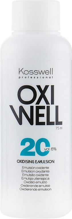 Emulsión oxidante 6% - Kosswell Professional Oxidizing Emulsion Oxiwell 6% 20vol