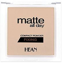 Perfumería y cosmética Polvo fijador ligero con extracto de cacao - Hean Matte All Day Compact Powder