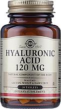 Perfumería y cosmética Complemento alimenticio en cápsulas de ácido hialurónico, 120 mg - Solgar Hyaluronic Acid