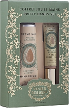 Perfumería y cosmética Panier Des Sens Pretty Hands Set - Set para manos (aceite de uñas y cutículas/7,5ml + crema de manos/30ml)