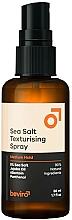 Perfumería y cosmética Spray capilar texturizante con aceite de jojoba - Beviro Salty Texturizing Spray Medium Hold