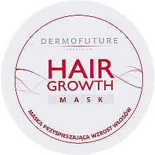 Perfumería y cosmética Mascarilla para el crecimiento del cabello - DermoFuture Hair Growth Mask