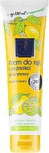 Perfumería y cosmética Crema hidratante para manos y uñas con glicerina y limón - Pharma CF Cztery Pory Roku Hand Cream