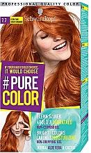 Perfumería y cosmética Coloración permanente en gel con aceite de jojoba y extractos de aloe vera y cactus - Schwarzkopf Pure Color