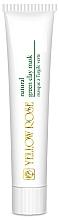 Perfumería y cosmética Mascarilla facial con arcilla verde - Yellow Rose Natural Green Clay Mask