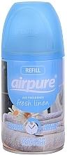 Perfumería y cosmética Ambientador con aroma a lino fresco (recarga) - Airpure Air-O-Matic Refill Fresh Linen