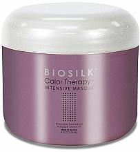 Perfumería y cosmética Mascarilla capilar intensiva con extracto de grosella y bambú - BioSilk Color Therapy Intensive Masque