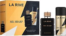 Perfumería y cosmética La Rive Mr. Sharp - Set (eau de toilette/100ml + desodorante/150ml)
