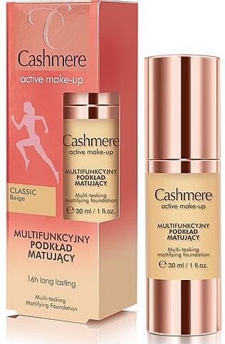 Base de maquillaje mate de larga duración - Dax Cashmere Active Make-Up Mattifying Foundation