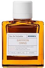 Perfumería y cosmética Korres Saffron Orris - Eau de toilette