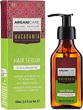 Perfumería y cosmética Sérum para puntas dañadas con aceite de argán y macadamia - Arganicare Macadamia Hair Serum for Dry & Damaged Hair