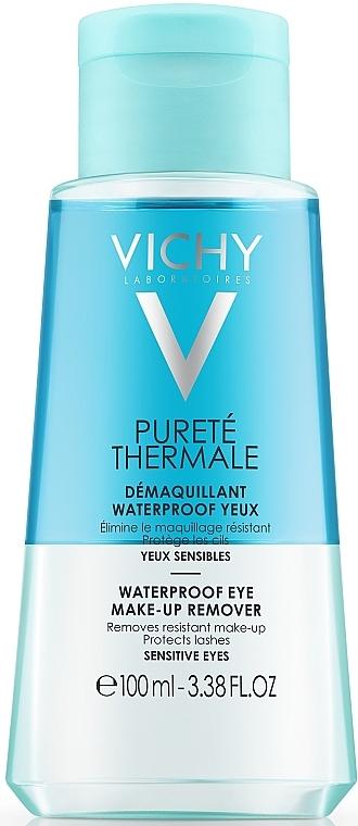 Desmaquillante hipoalergénico para pieles sensibles - Vichy Purete Thermale Struccante Waterproof Occhi Sensibili — imagen N1