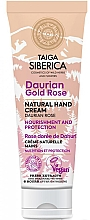 Perfumería y cosmética Crema de manos natural con rosas - Natura Siberica Doctor Taiga Hand Cream