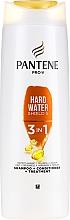 Perfumería y cosmética Champú acondicionador y tratamiento de cabello 3en1 - Pantene Pro-V Hard Wate Shield 5 3in1 Shampoo