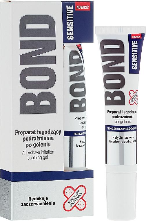 Gel aftershave con mentol y extracto de hamamelis - Bond Sensitive Aftershave Irritation Soothing Gel