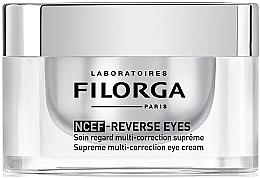 Perfumería y cosmética Tratamiento contorno de ojos multicorrector con cafeína y ácido hialurónico - Filorga NCEF-Reverse Eyes