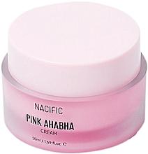 Perfumería y cosmética Crema facial con ácido AHA, BHA y extracto de malelula - Nacific Pink AHA BHA Cream