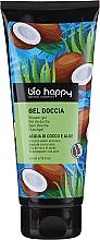 Perfumería y cosmética Gel de ducha con jugos de coco y aloe - Bio Happy Shower Gel Coconut Water And Aloe
