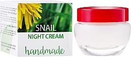 Perfumería y cosmética Crema de noche con extracto de baba de caracol 100% natural - Hristina Cosmetics Handmade Snail Night Cream