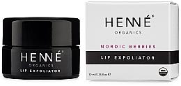 Perfumería y cosmética Exfoliante labial con extracto de bayas nórdicas - Henne Organics Nordic Berries Lip Exfoliator