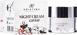 Perfumería y cosmética Crema de noche reafirmante con extracto de caviar - Hristina Cosmetics Orient Caviar Night Cream