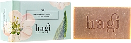 Perfumería y cosmética Jabón natural artesano con extracto de limoncillo y espirulina - Hagi Soap