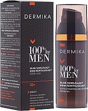 Perfumería y cosmética Crema facial hidratante y revitalizante con extracto de guaraná - Dermika Ultra-Hydrating And Revitalizing Cream 30+