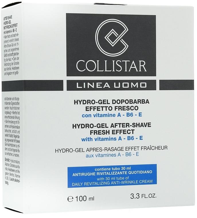 Set de afeitar con vitamina A, B6 y E - Collistar (gel aftershave/100ml + crema/30ml) — imagen N1