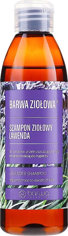 Champú con extracto de lavanda & queratina - Barwa Herbal Lavender Shampoo
