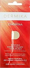 Perfumería y cosmética Mascarilla facial con oxígeno activo y aceite de aguacate - Dermika Energizing and Moisturizing Mask