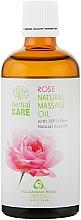 Perfumería y cosmética Aceite de masaje con extracto de rosa búlgara - Bulgarian Rose Herbal Care