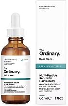 Perfumería y cosmética Sérum multipeptídico redensificante de cabello - The Ordinary Multi Peptide Serum For Hair Density