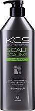 Perfumería y cosmética Champú para cuero cabelludo sensible con proteína de guisante hidrolizada y extracto de menta - KCS Scalp Scaling Shampoo