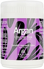 Perfumería y cosmética Mascarilla para cabello teñido con aceite argán - Kallos Cosmetics Argan Color Hair Mask