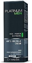 Perfumería y cosmética Crema facial antiarrugas con proteína de almendra y aceite de melocotón - Dr Irena Eris Platinum Men Age Power Extreme Anti-wrinkle Cream