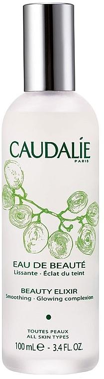 Elixir agua facial 100% natural fijador de maquilaje con aceite de menta y extracto de uva - Caudalie Cleansing & Toning Beauty Elixir