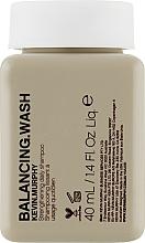 Perfumería y cosmética Champú equilibrado fortificante con aminoácidos de trigo y aceite de geranio - Kevin.Murphy Balancing.Wash (mini)