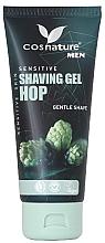 Perfumería y cosmética Gel de afeitar natural con extracto de lúpulo - Cosnature Men