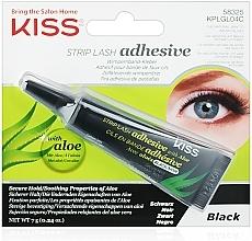 Perfumería y cosmética Pegamento para pestañas postizas con aloe - Kiss Strip Lash Adhesive Black
