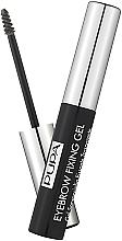 Perfumería y cosmética Gel fijador de cejas transparente - Pupa Transparent Eyebrow Fixing Gel