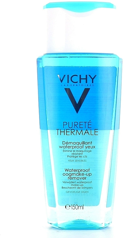 Desmaquillante hipoalergénico para pieles sensibles - Vichy Purete Thermale Struccante Waterproof Occhi Sensibili — imagen N4