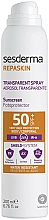 Perfumería y cosmética Spray protector solar corporal, resistente al agua SPF 50 - SesDerma Laboratories Repaskin Aerosol Spray SPF50