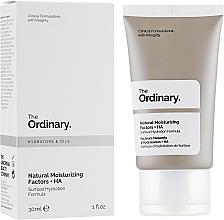 Perfumería y cosmética Fluido facial hidratante con ceramidas y ácido hialurónico - The Ordinary Natural Moisturizing Factors + HA