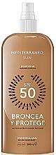 Perfumería y cosmética Leche solar en spray resistente al agua - Mediterraneo Sun Suntan Lotion SPF50