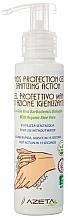 Perfumería y cosmética Gel de manos con aloe vera orgánico y aceite de maleluca - Azeta Bio Hands Protection Gel Sanitizing Action