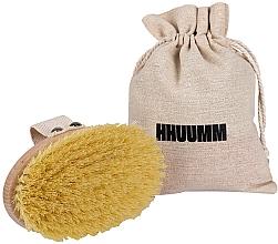 Perfumería y cosmética Cepillo de baño y masaje corporal con madera de haya aceitada - Hhuumm № 1