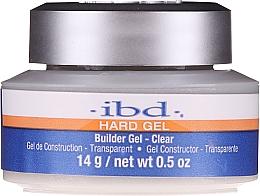 Perfumería y cosmética Gel constructor de uñas, transparente - IBD Clear Builder Gel