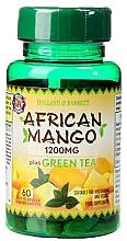 Perfumería y cosmética Complemento alimenticio en cápsulas de mango africano con té verde - Holland & Barrett African Mango With Green Tea 1200mg